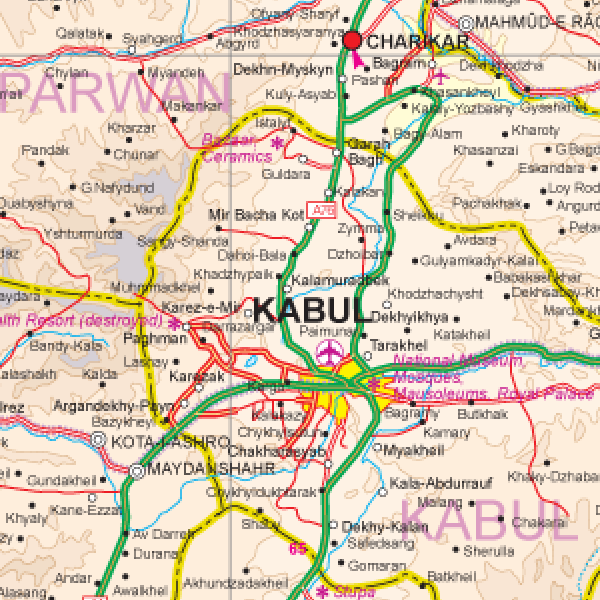 Maps for travel city maps road maps guides globes topographic maps 9781553411031 afghanistan travel reference map 11000000 1295 1295 950 895 gumiabroncs Gallery