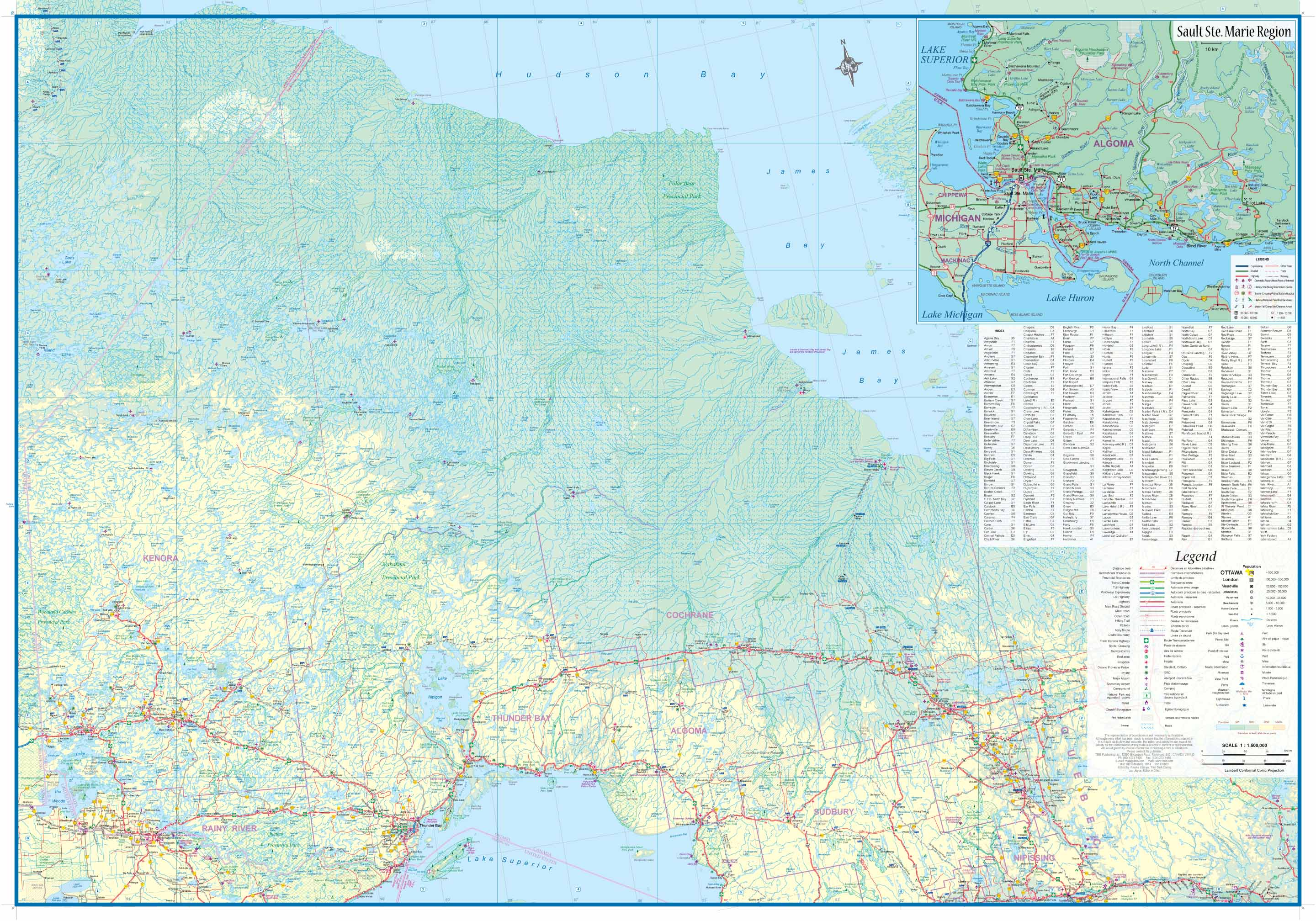 Ontario Topographic Map.Maps For Travel City Maps Road Maps Guides Globes Topographic Maps