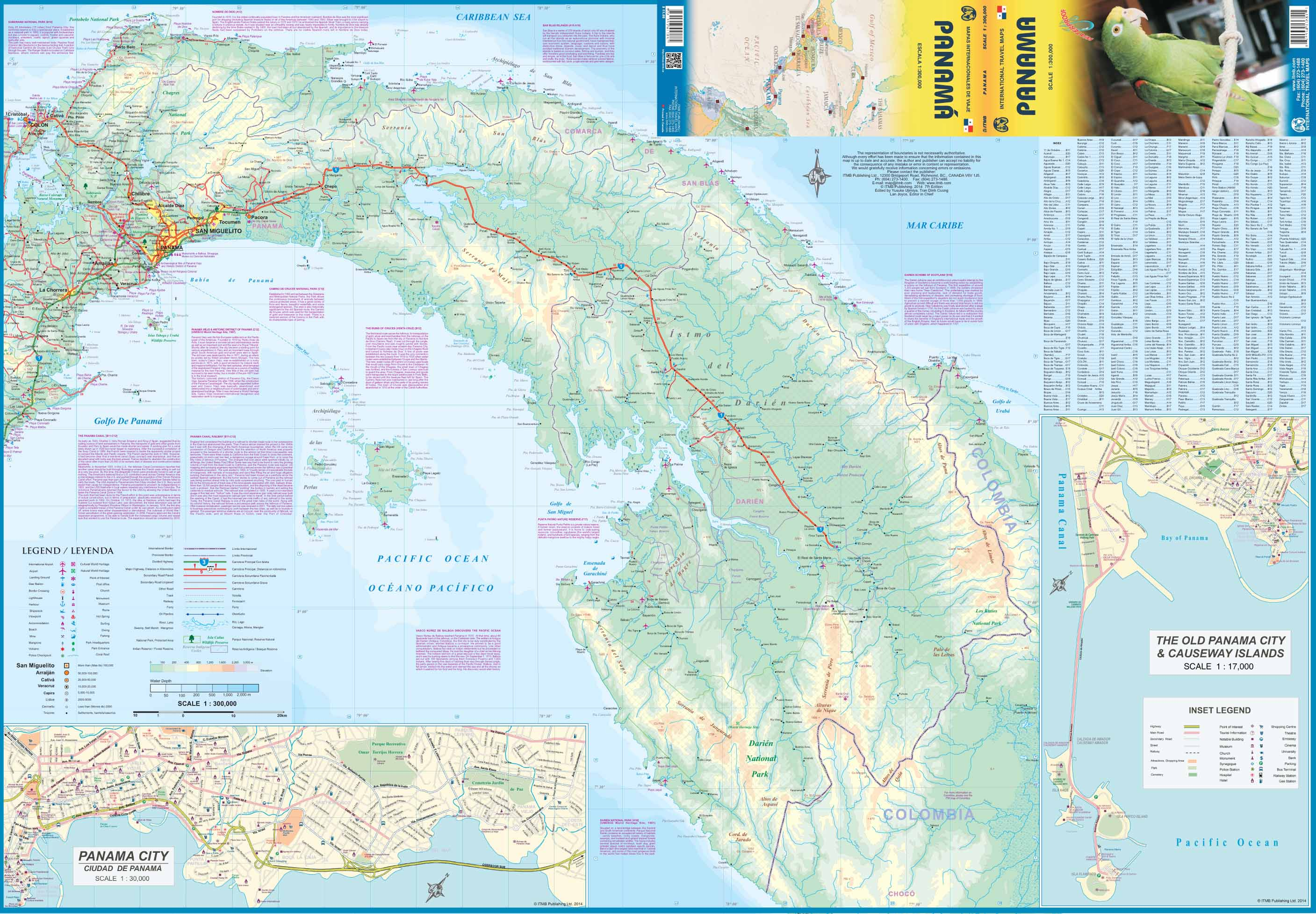 Topographic Map Of Panama.Maps For Travel City Maps Road Maps Guides Globes Topographic Maps
