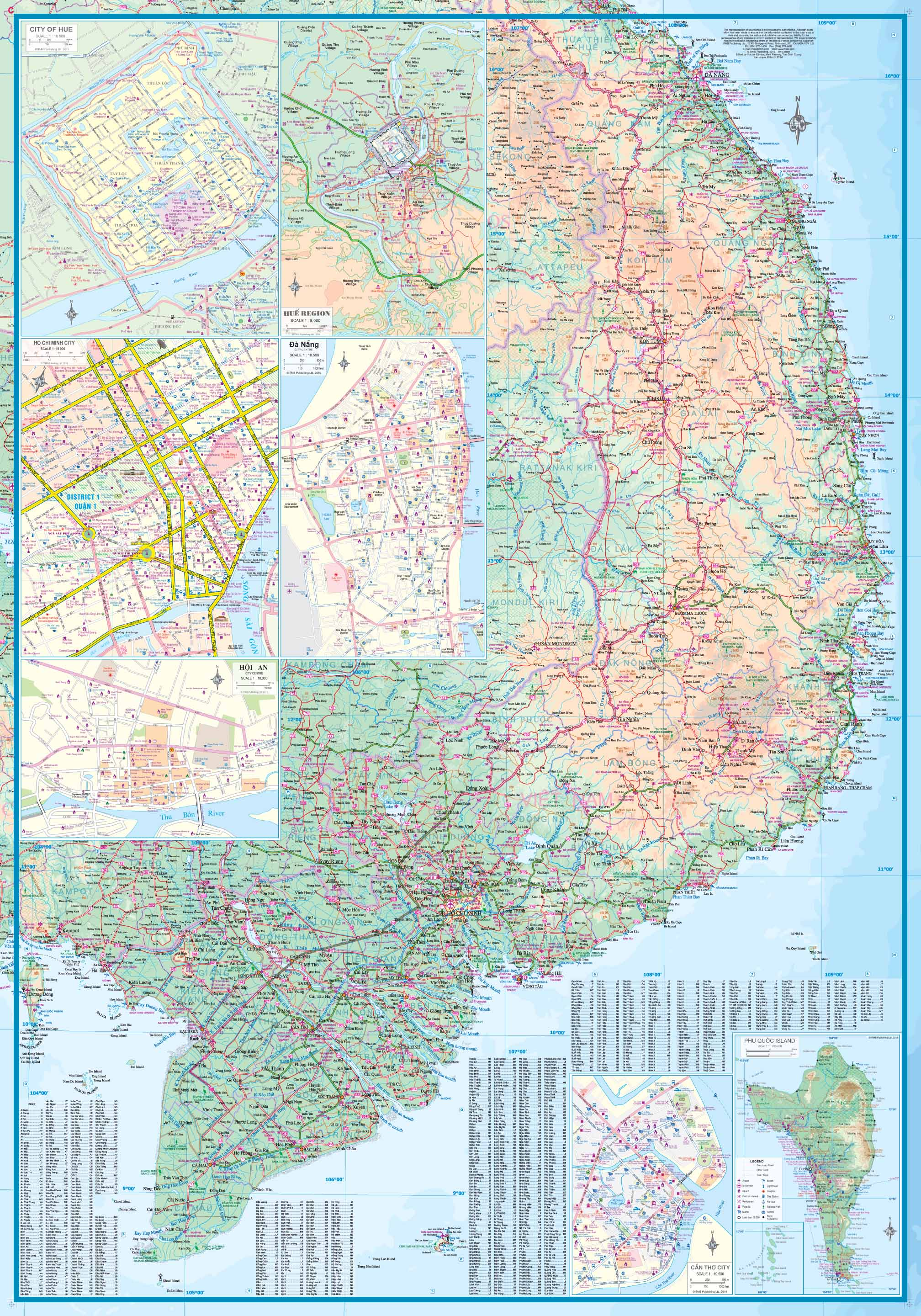 Maps for travel City Maps Road Maps Guides Globes Topographic – Travel Map Of Vietnam