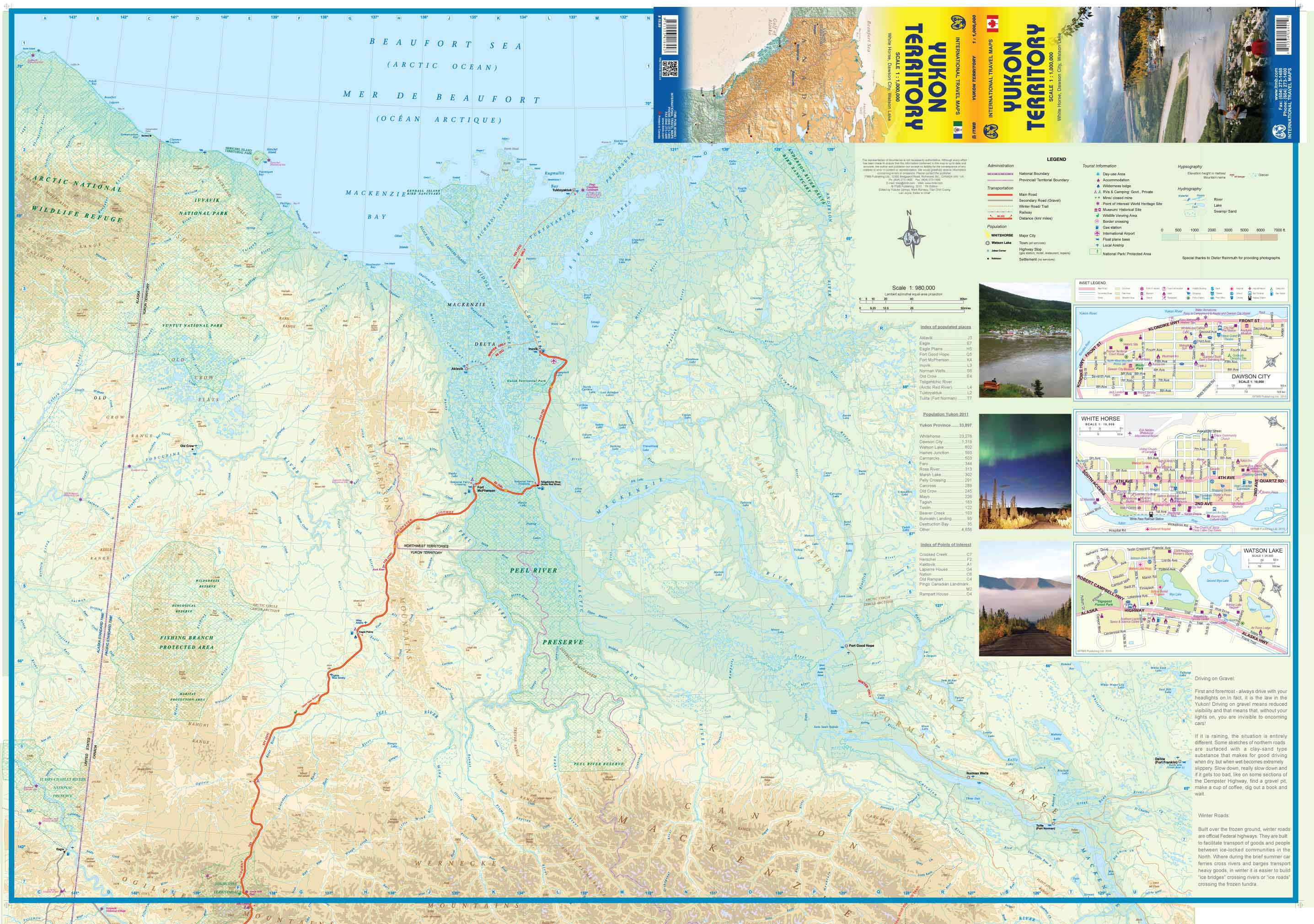 Maps For Travel City Maps Road Maps Guides Globes Topographic - Yukon map