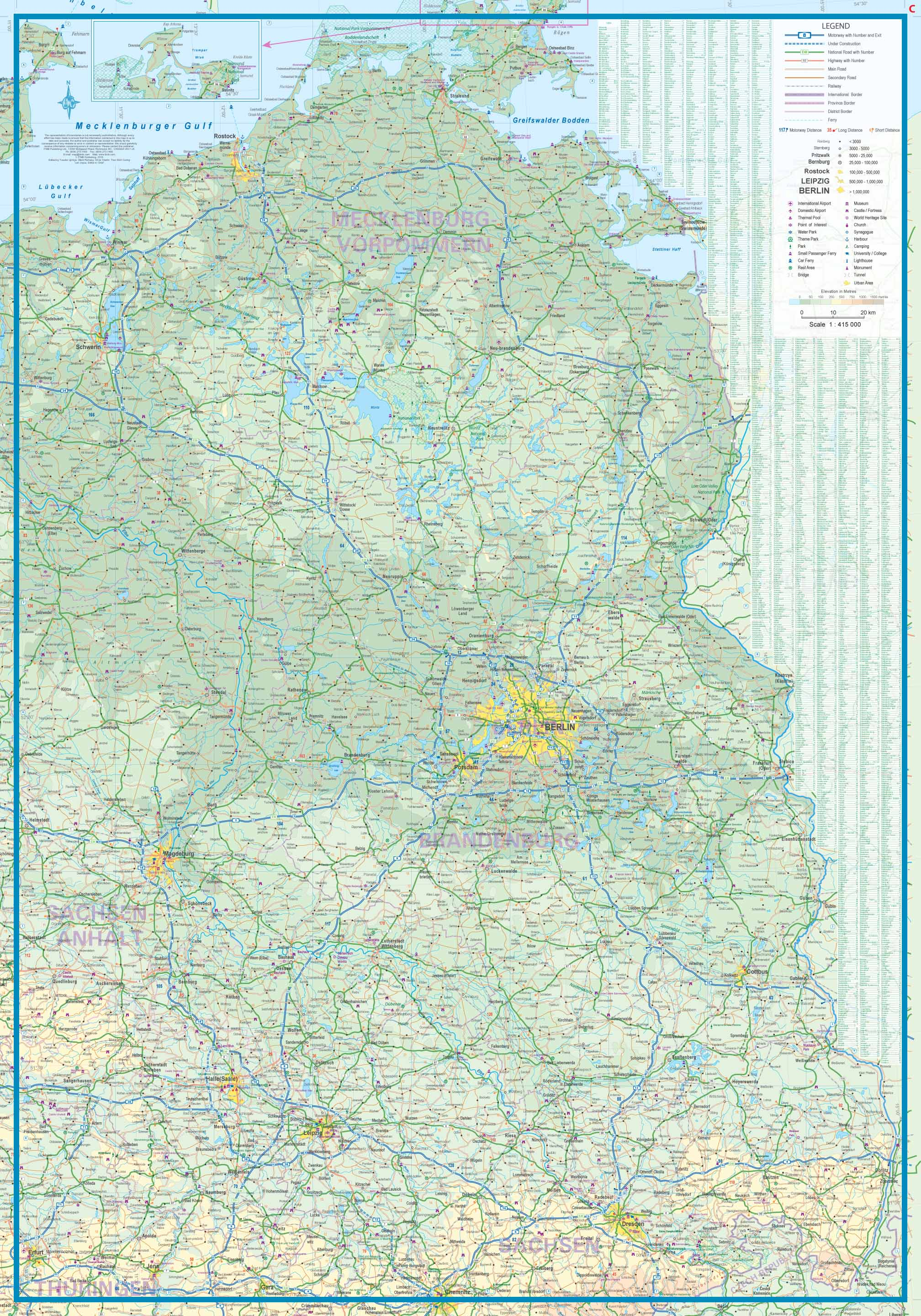 Map Of North West Germany.Maps For Travel City Maps Road Maps Guides Globes Topographic Maps