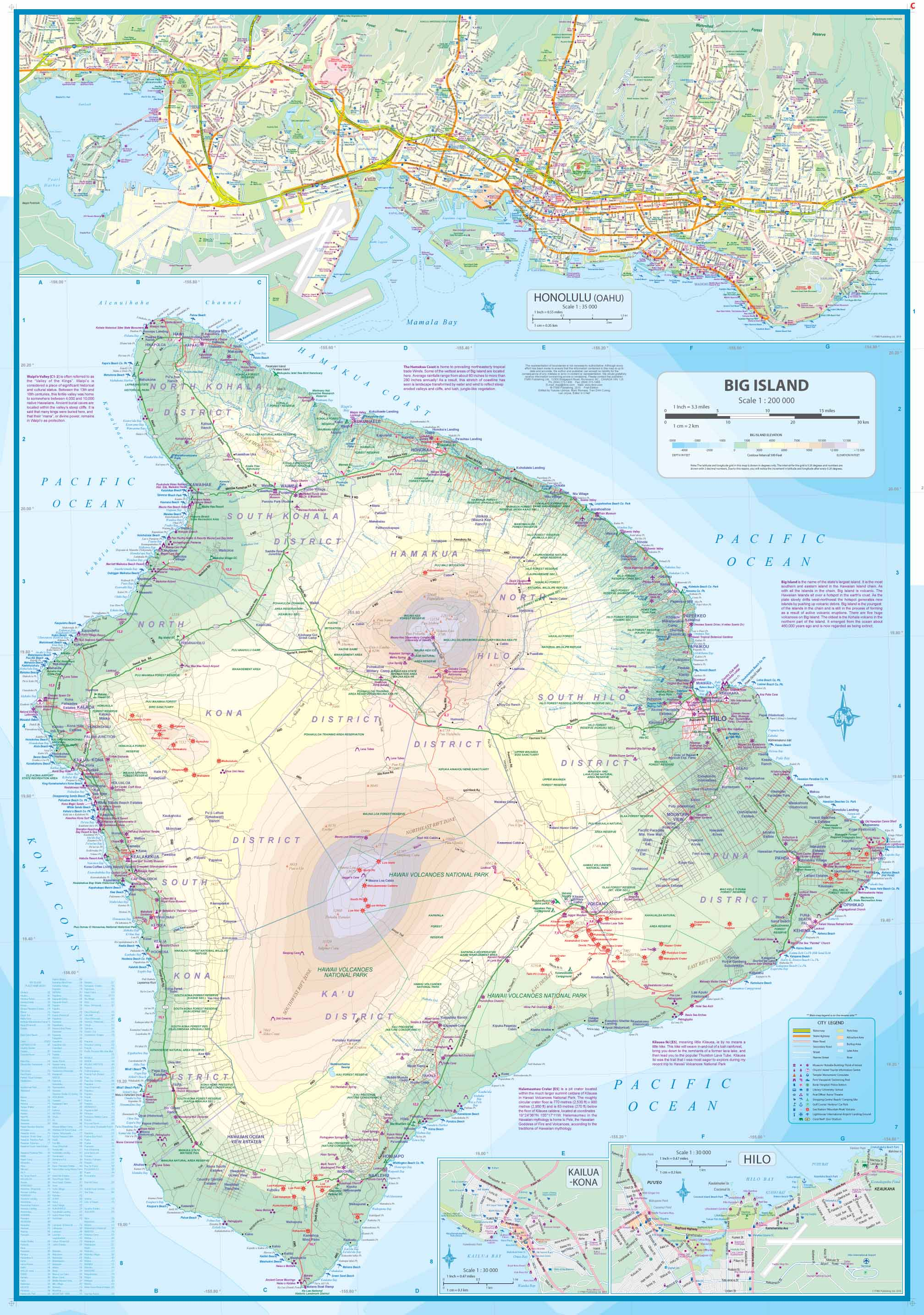 Topographic Map Oahu.Maps For Travel City Maps Road Maps Guides Globes Topographic Maps