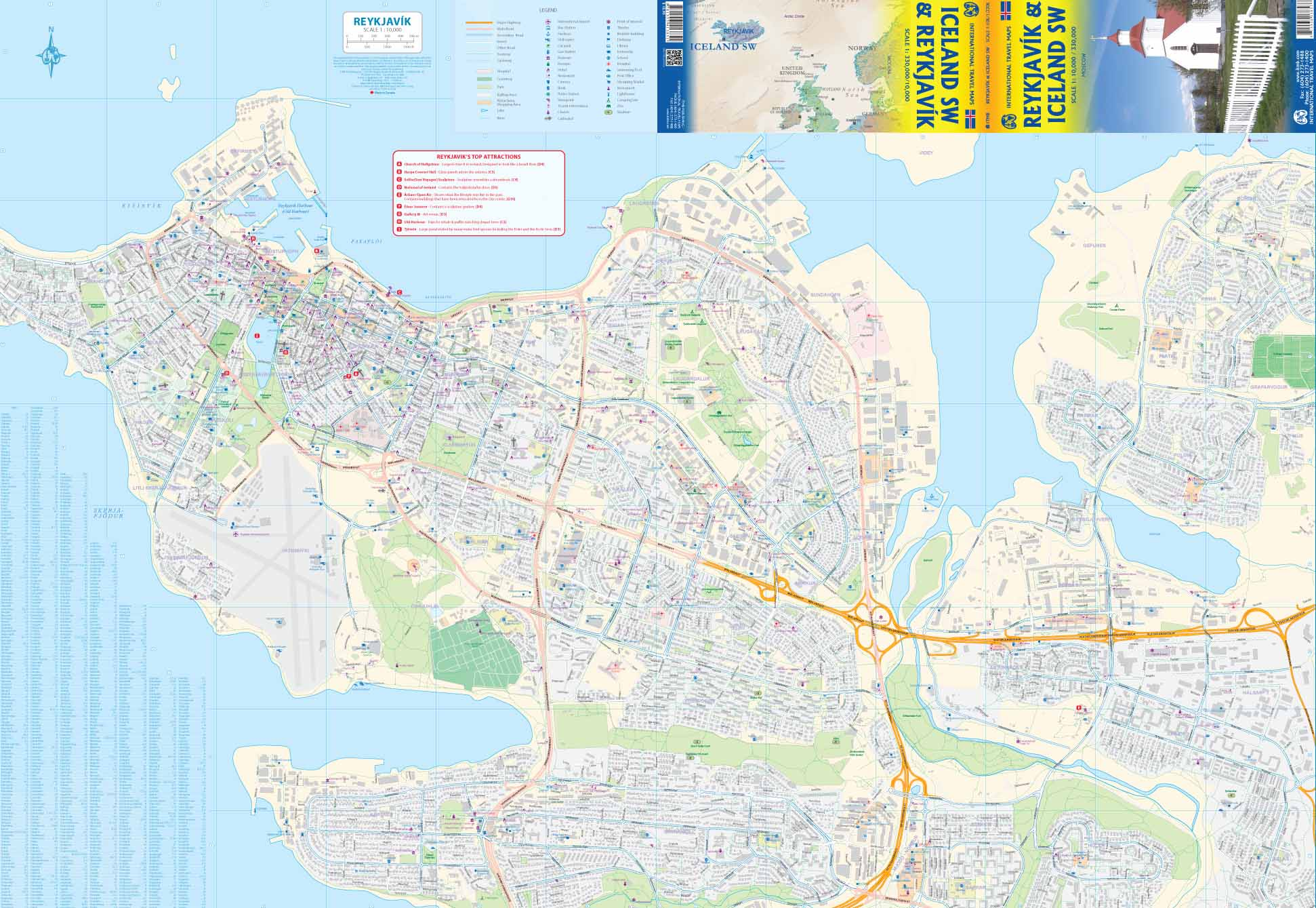 Topographic Map Of Iceland.Maps For Travel City Maps Road Maps Guides Globes Topographic Maps